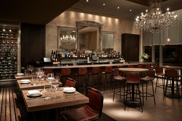 Interior Dining Room and Bar