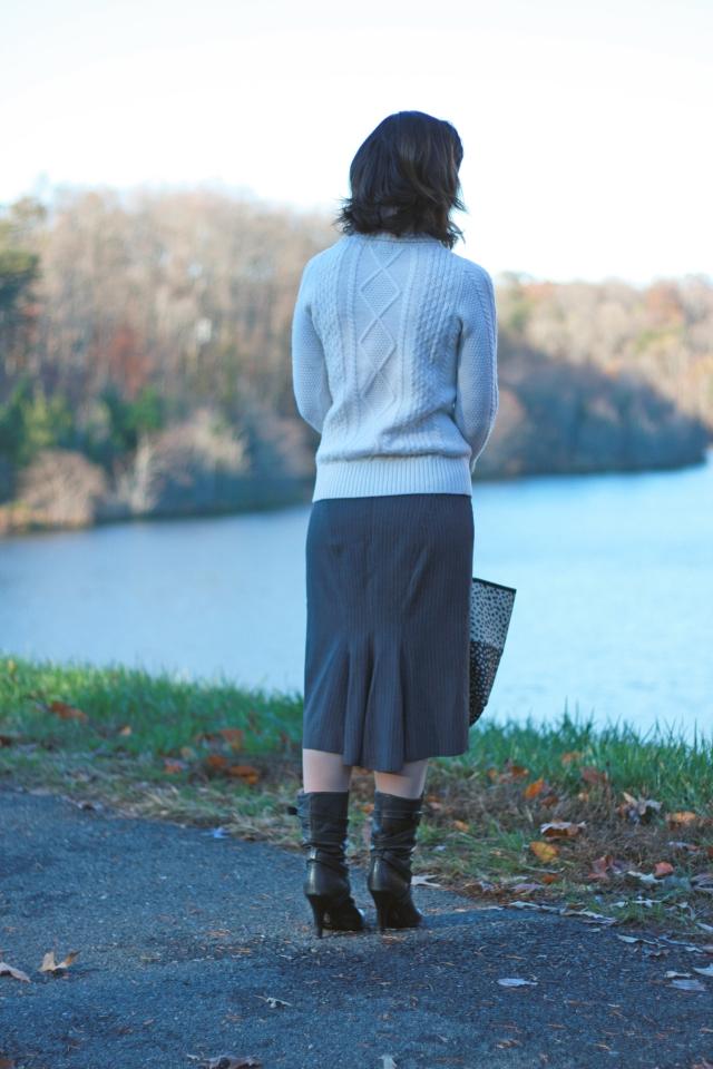 pin-striped-midi-skirt
