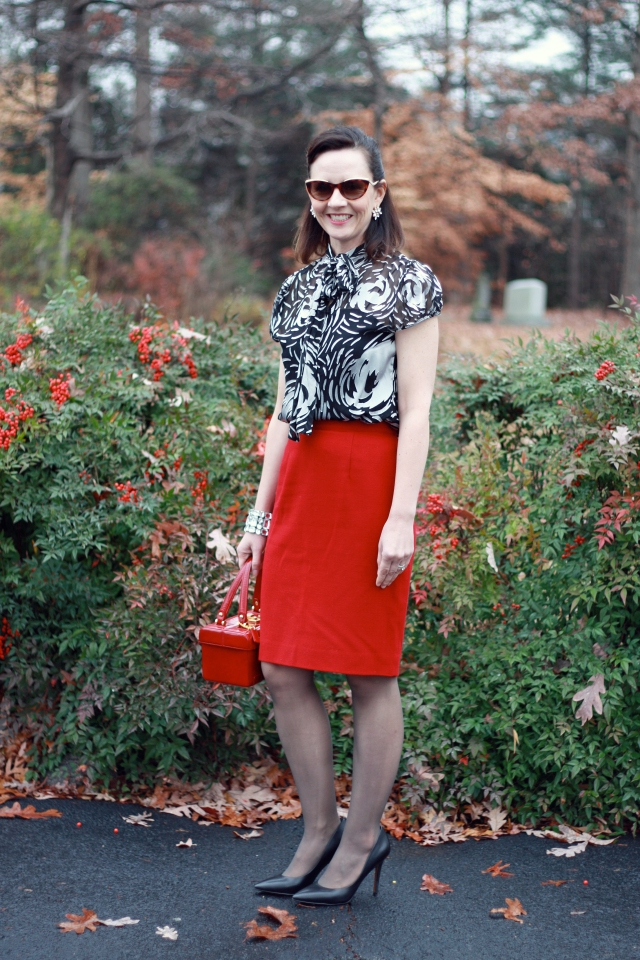 red-pencil-skirt