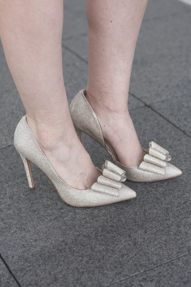 gold-betsey-johnson-shoes