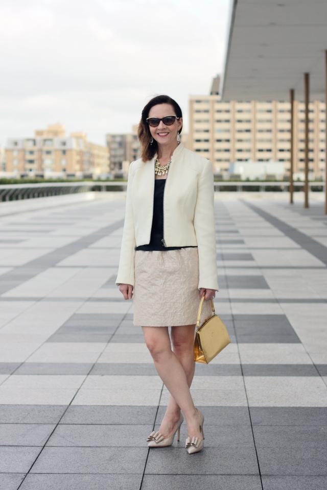 military-jacket-and-brocade-skirt