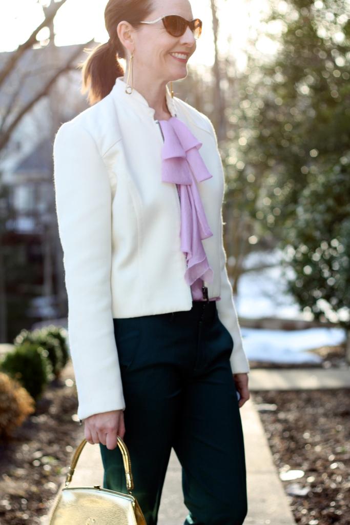 pink-tie-blouse
