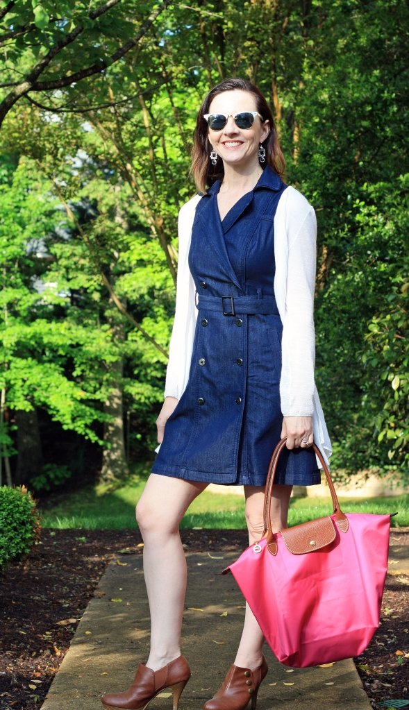 denim-trench-dress