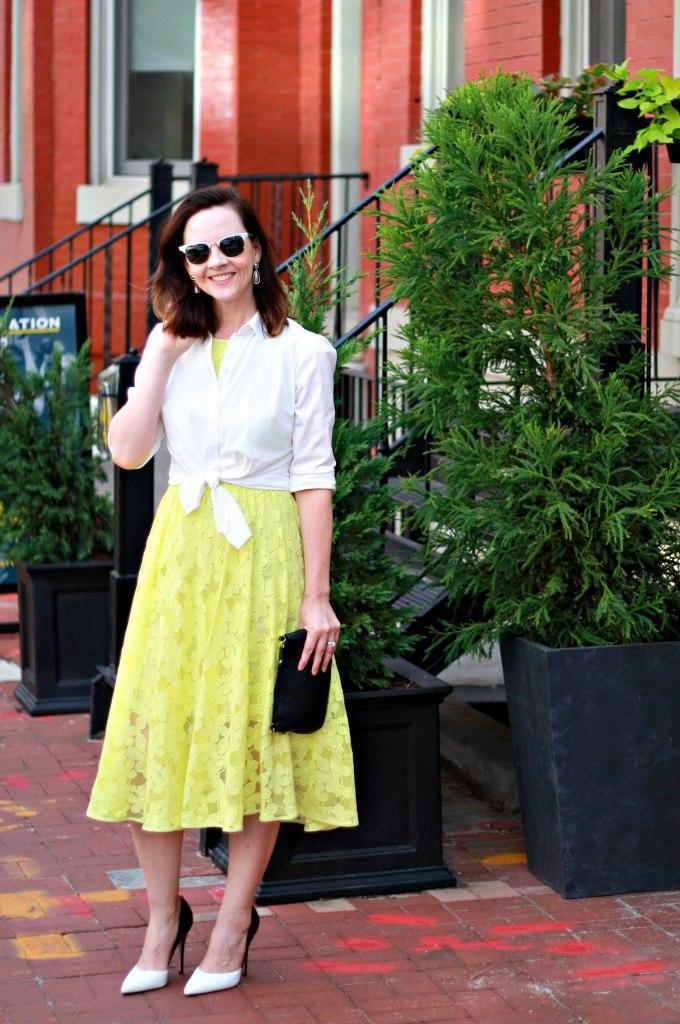 yellow-lace-dress
